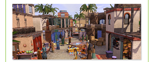 Les Sims 3 : 1er addon : Destination Aventure Exclus10