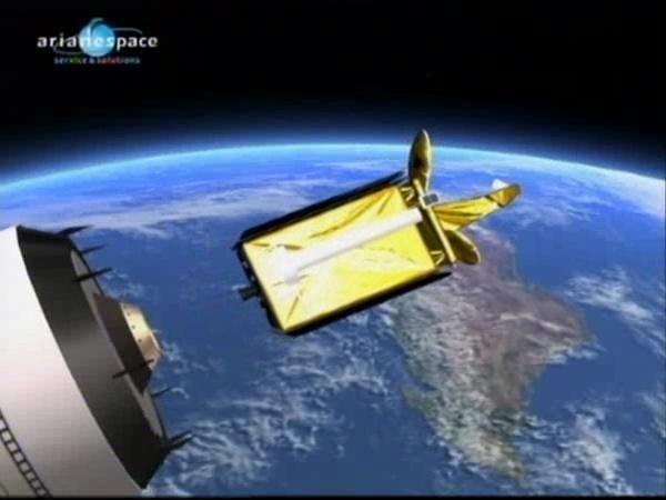 Ariane 5 ECA V191 / Amazonas 2 + COMSATBw-1 (01/10/2009) - Page 4 Vlcsna82