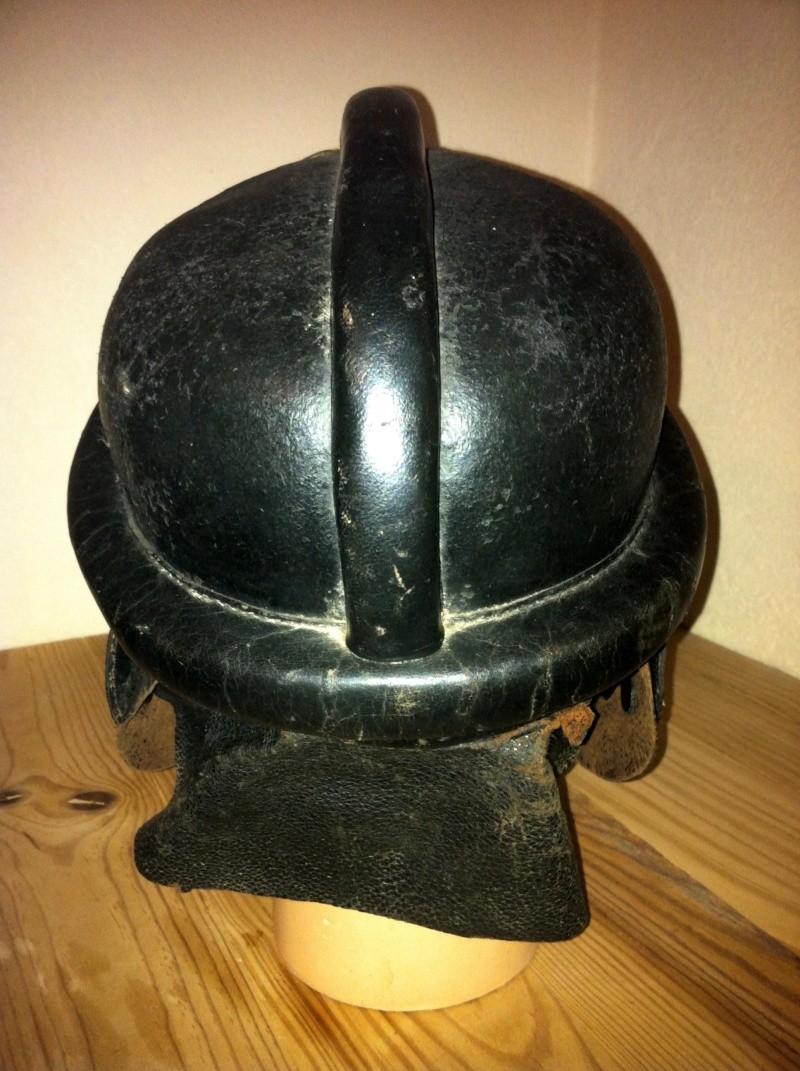 casque motard allemand ww2 Img_1525