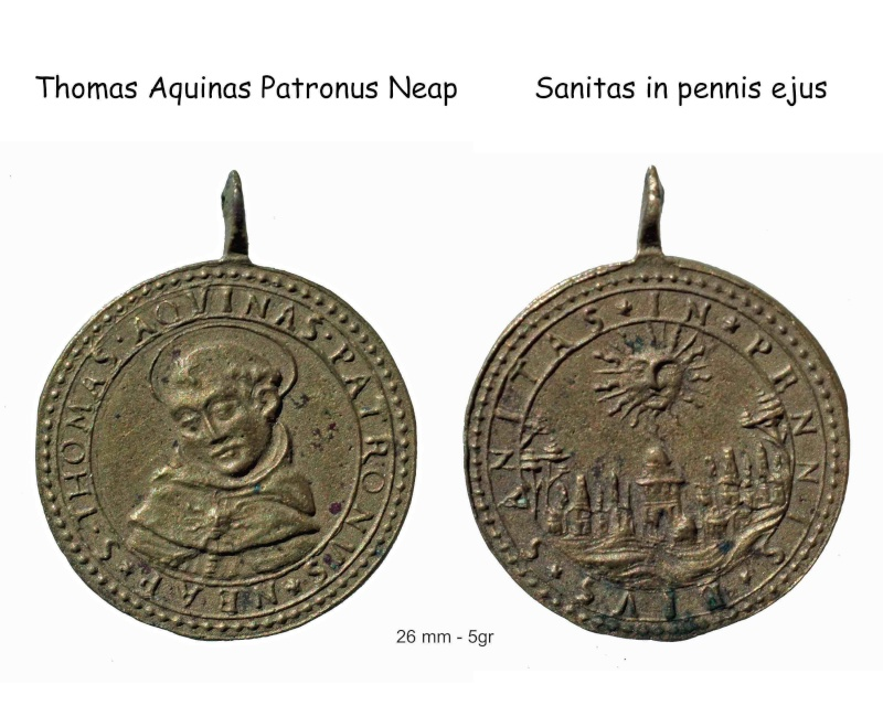 Médaille Saint Thomas d'Aquin pour datation Saint-10