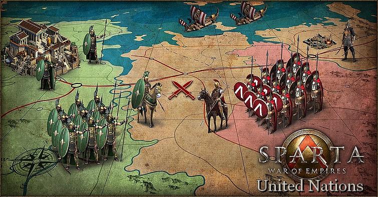 Sparta : War of Empires.