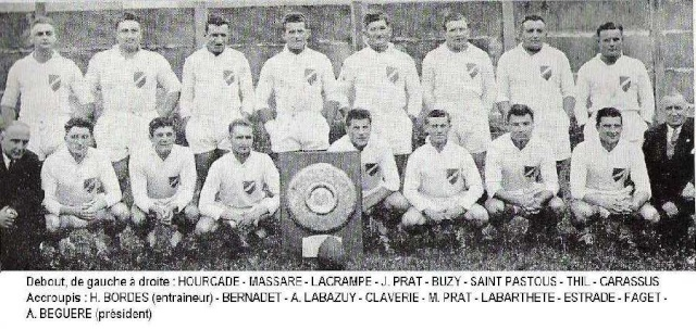 Historique du FC Lourdes Lourde10