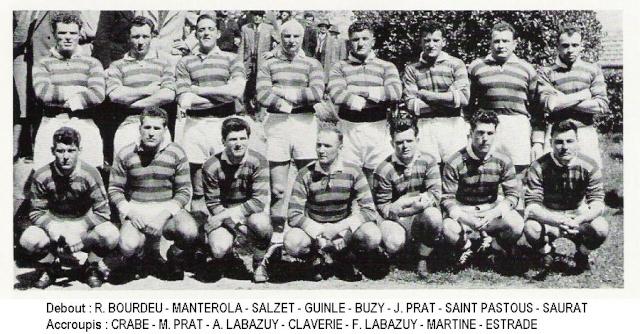 Historique du FC Lourdes Lourde12