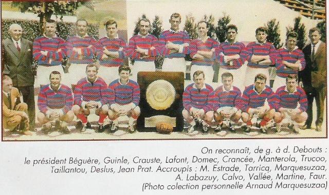 Historique du FC Lourdes Lourde16