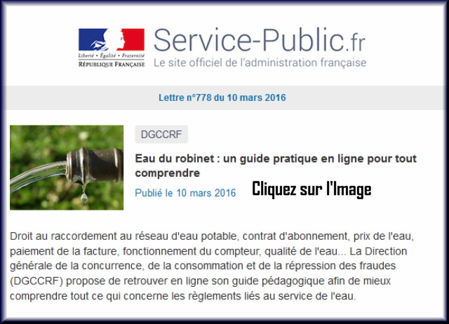 """La lettre N° 778 de """"Service Public"""" du 10 Mars 2016 77810"""