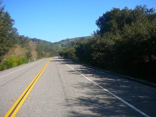 Group Ride today 3-28-09  Oakland Hills area, California Skylin10