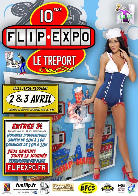Salon Flip Expo 2016 du 2 au 3 Avril 2016 Flipex10