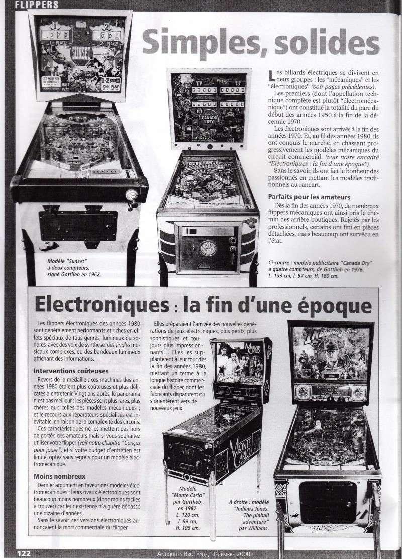Reportage / Magazine sur 'Un flipper à la maison' Page310