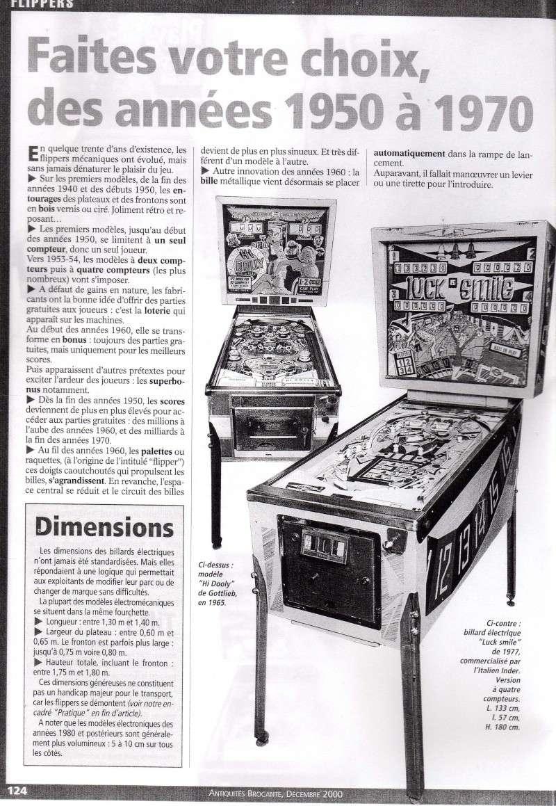 Reportage / Magazine sur 'Un flipper à la maison' Page510