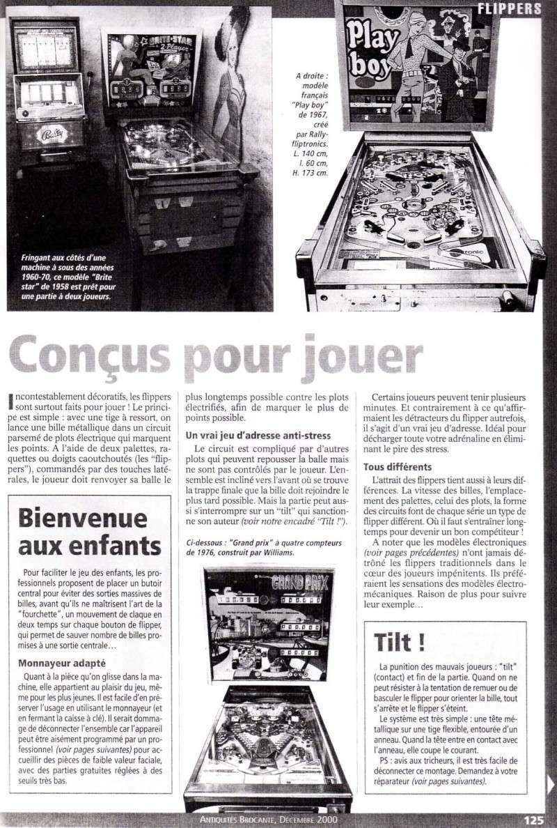 Reportage / Magazine sur 'Un flipper à la maison' Page610