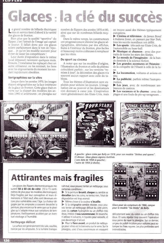 Reportage / Magazine sur 'Un flipper à la maison' Page710
