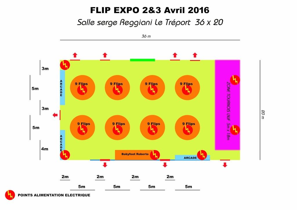 Salon Flip Expo 2016 du 2 au 3 Avril 2016 Salle-10