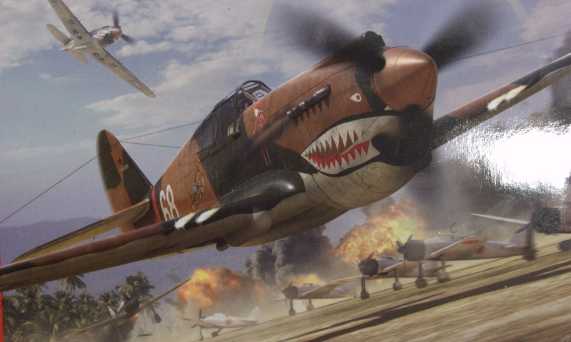 Curtiss P-40 Airfix et Trumpeter - 1/72 - special project 111
