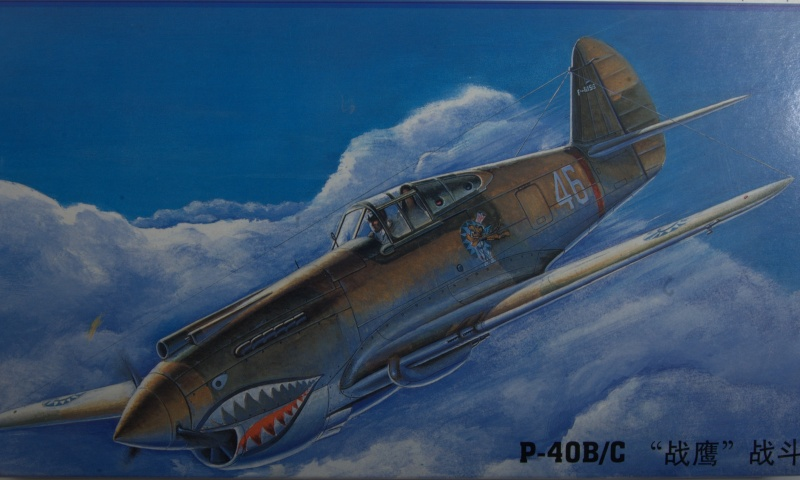 Curtiss P-40 Airfix et Trumpeter - 1/72 - special project 211