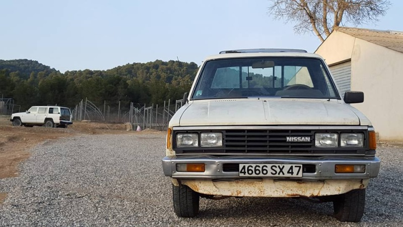 DATSUN PICK UP 720  2WD Version US 2.4L es de 1984  12321610