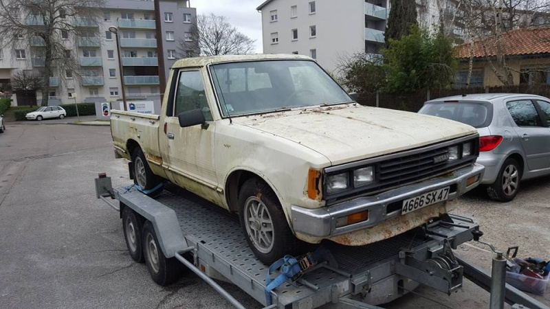DATSUN PICK UP 720  2WD Version US 2.4L es de 1984  12705210