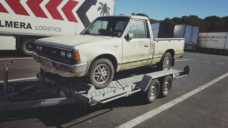 DATSUN PICK UP 720  2WD Version US 2.4L es de 1984  12705311