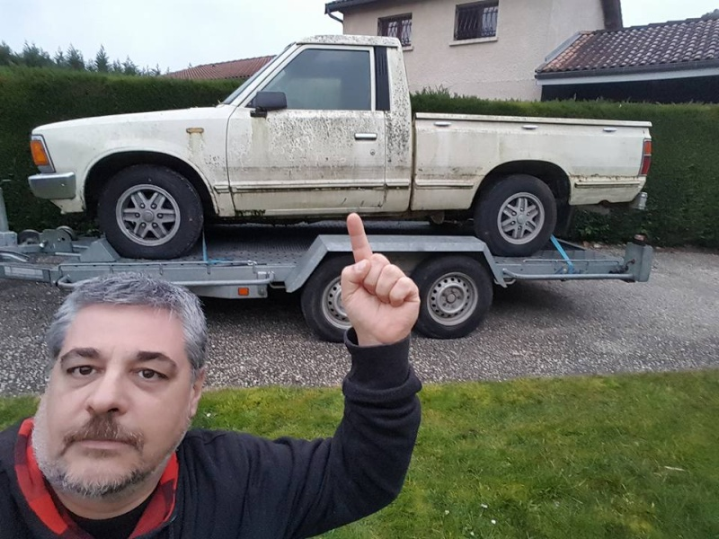 DATSUN PICK UP 720  2WD Version US 2.4L es de 1984  12728911