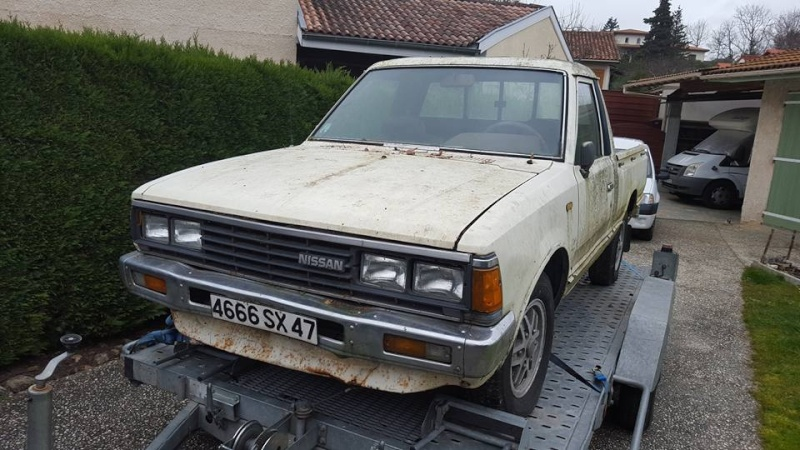 DATSUN PICK UP 720  2WD Version US 2.4L es de 1984  12729114