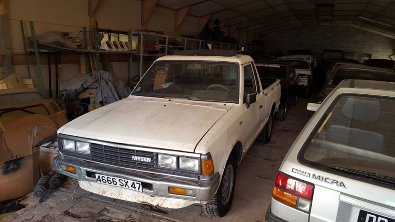 DATSUN PICK UP 720  2WD Version US 2.4L es de 1984  12729115