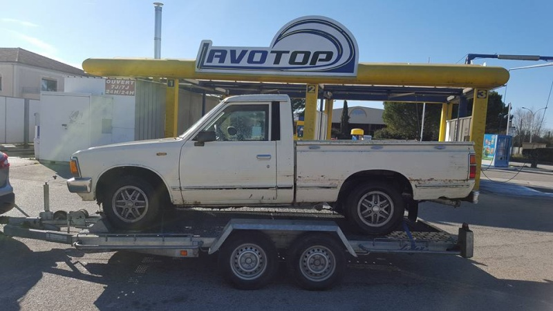 DATSUN PICK UP 720  2WD Version US 2.4L es de 1984  12734010