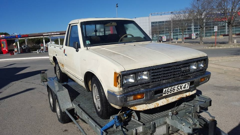DATSUN PICK UP 720  2WD Version US 2.4L es de 1984  12745510