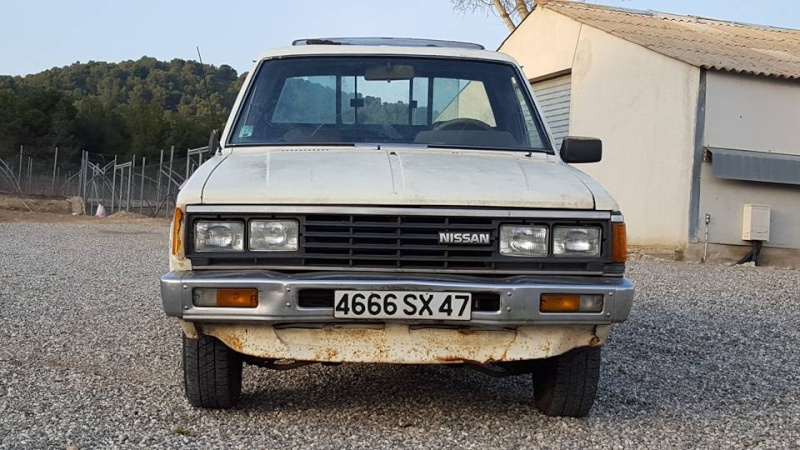 DATSUN PICK UP 720  2WD Version US 2.4L es de 1984  12794310