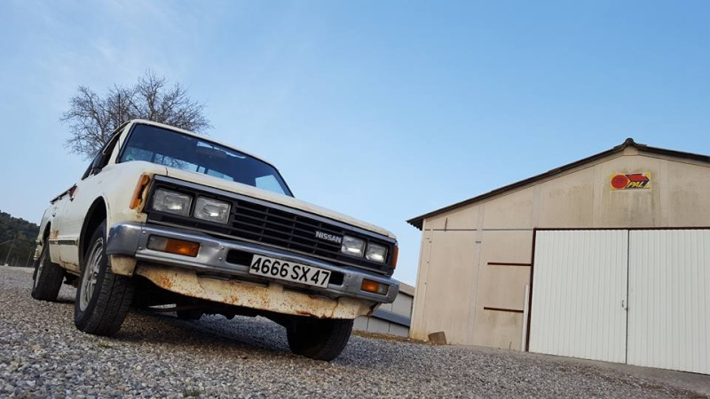 DATSUN PICK UP 720  2WD Version US 2.4L es de 1984  12795310