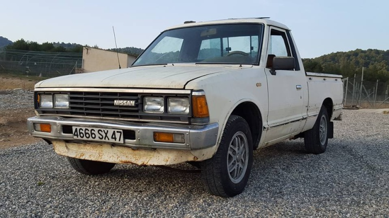 DATSUN PICK UP 720  2WD Version US 2.4L es de 1984  12801111