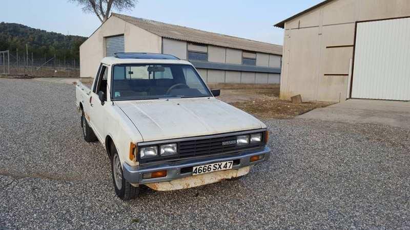 DATSUN PICK UP 720  2WD Version US 2.4L es de 1984  12814210