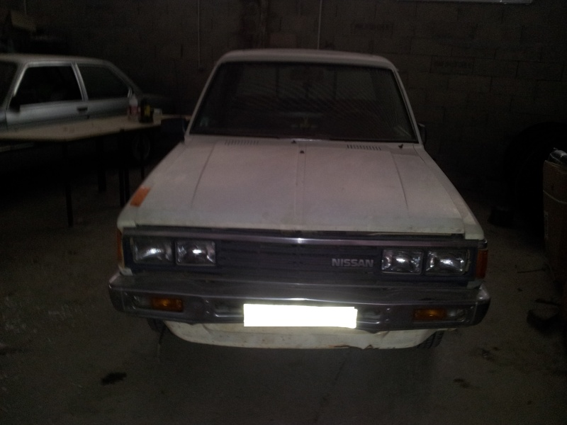 DATSUN PICK UP 720  2WD Version US 2.4L es de 1984  20121111