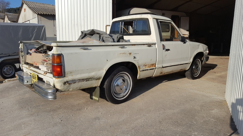 DATSUN PICK UP 720  2WD Version US 2.4L es de 1984  20160313