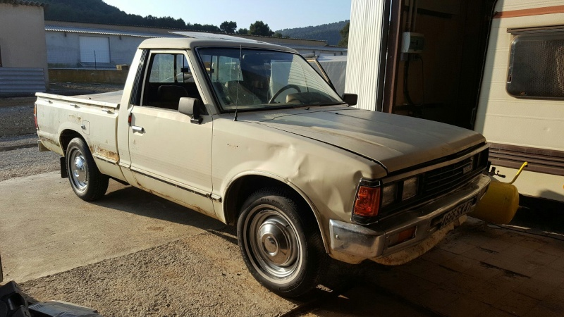 DATSUN PICK UP 720  2WD Version US 2.4L es de 1984  Edited10