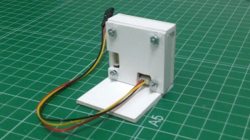 CARCAZA SONY DC12V 800TVL  (SONY Effio-E chip) 410