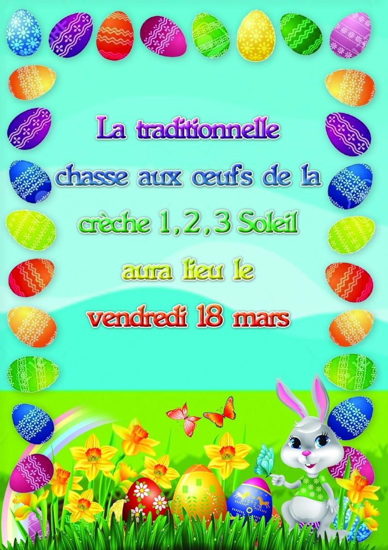 Affiche Pâques crèche Paque10