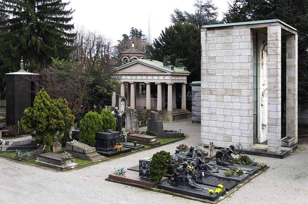 Milano .... Le cimetière .... K5im6626