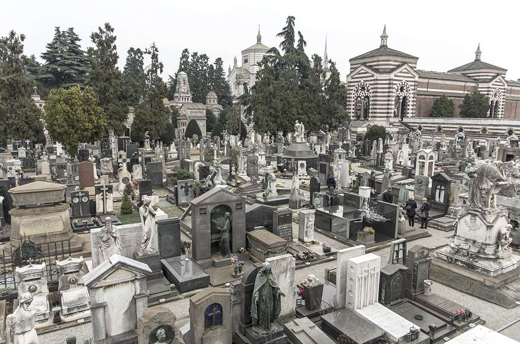 Milano .... Le cimetière .... K5im6629