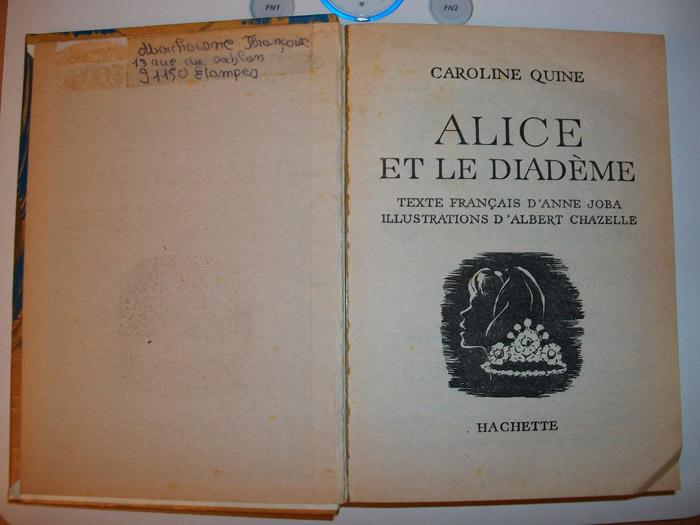 Echanges/ Vente / Recherche Alice311