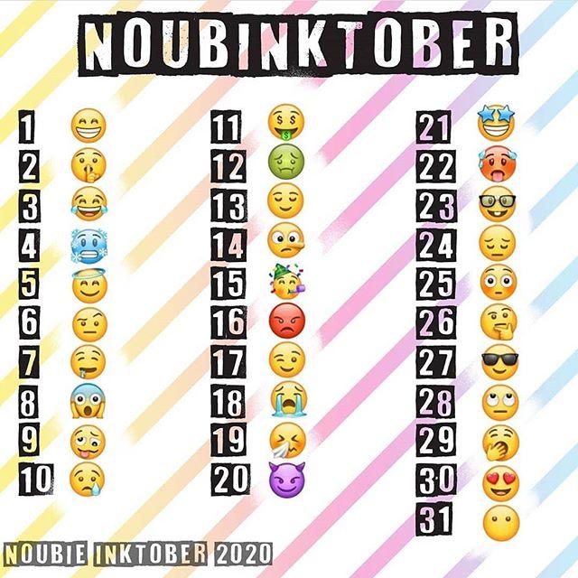 OCtober et Noubinktober Noobie10