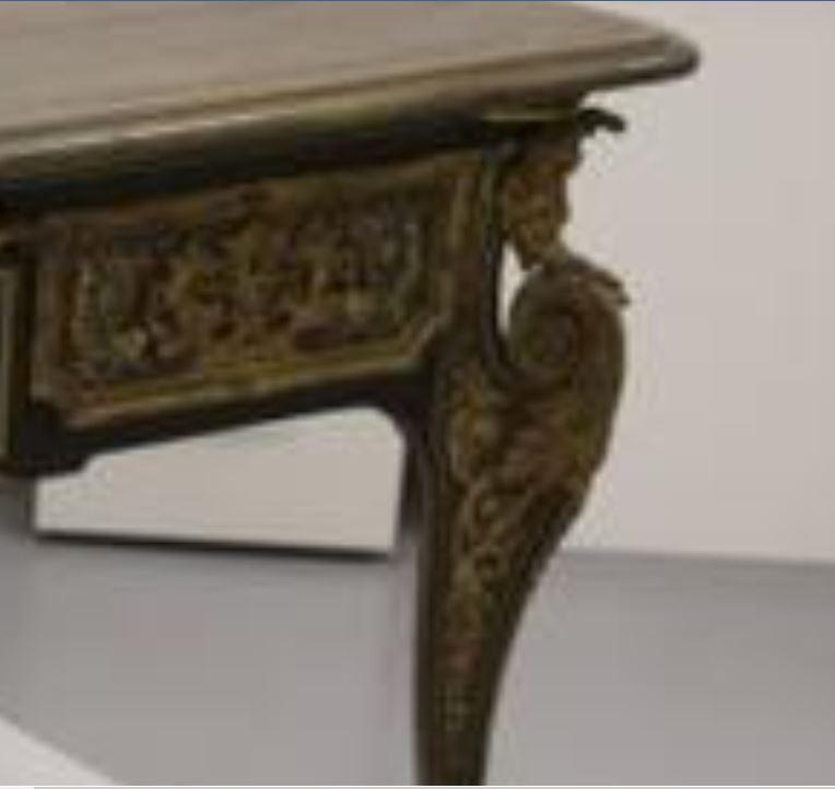 La restauration d'un bureau d'A-C Boulle au Louvre-Lens 99915