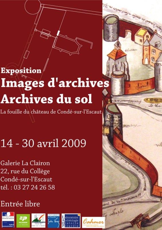 """""""Images d'archives - Archives du sol"""" exposition à Condé-sur-l'Escaut Copie_10"""
