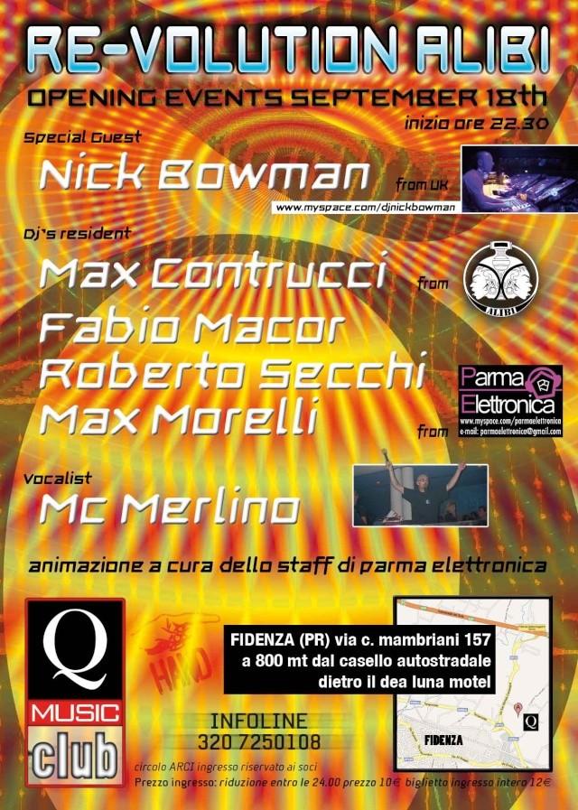 RE-Volution ALIBI @ Q-music Club (FIDENZA - Pr) 189r10
