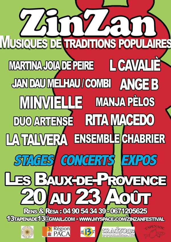 Festival Zin-Zan , Baux-de-Provence du 20 au 23 Août 2009 L_458411