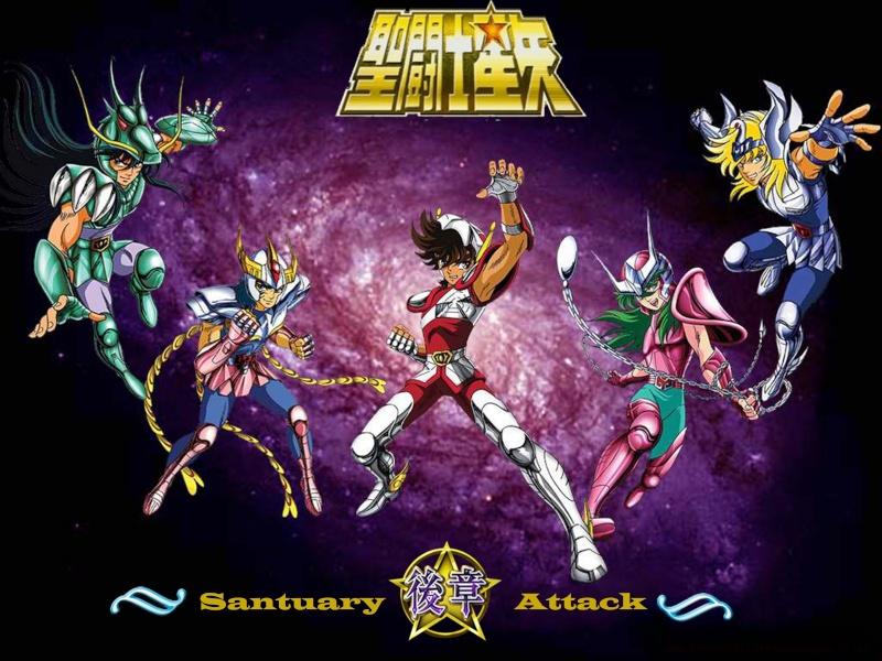 Saint Seiya Santuary Attack