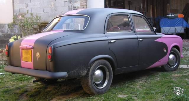 """Peugeot 403 7cv 1960 """"mild kustom"""" 25223110"""