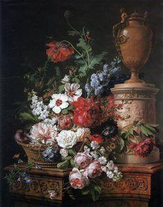 Anne Vallayer-Coster, chef du cabinet de peinture de Marie-Antoinette 15fd4010