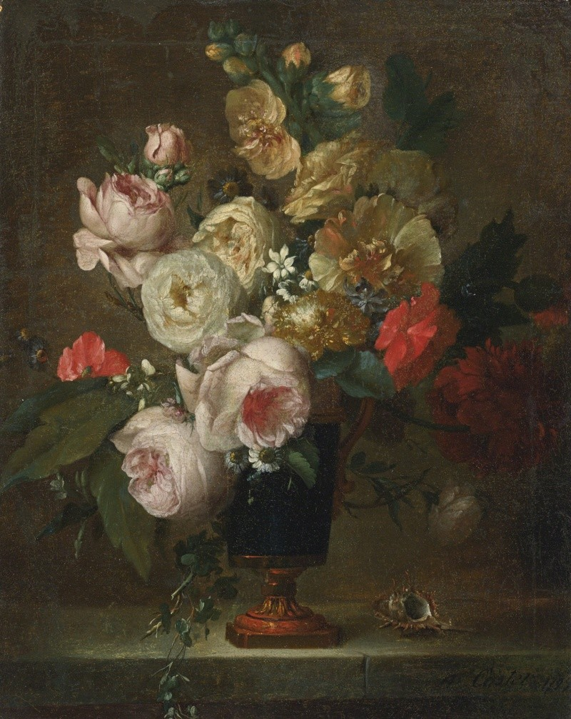 Anne Vallayer-Coster, chef du cabinet de peinture de Marie-Antoinette 432n0910