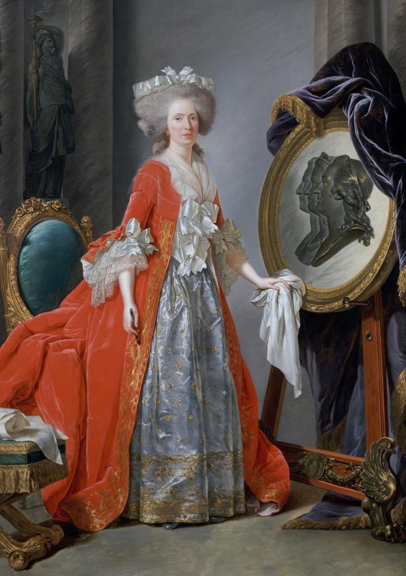 Adélaïde Labille-Guiard, peintre de Mesdames 7941lp10