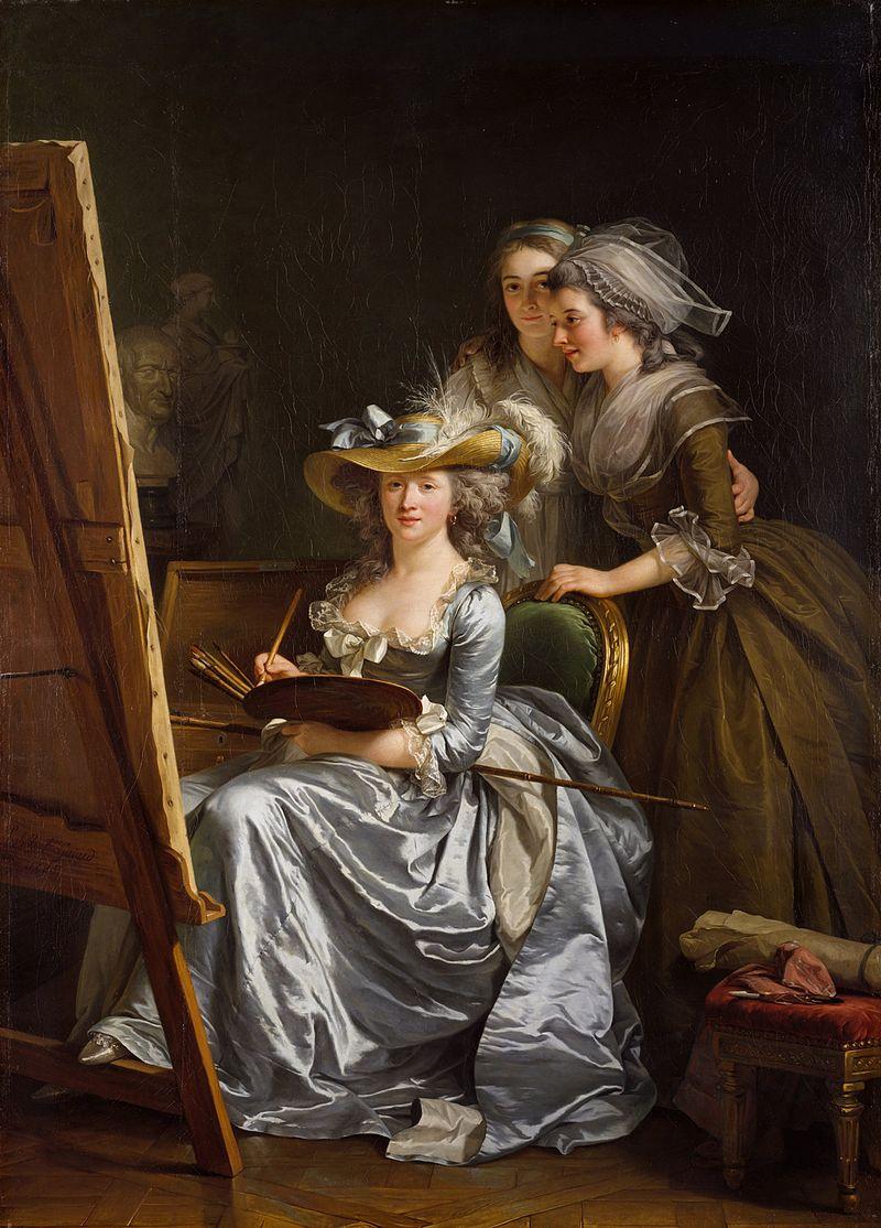 Adélaïde Labille-Guiard, peintre de Mesdames 800px-12