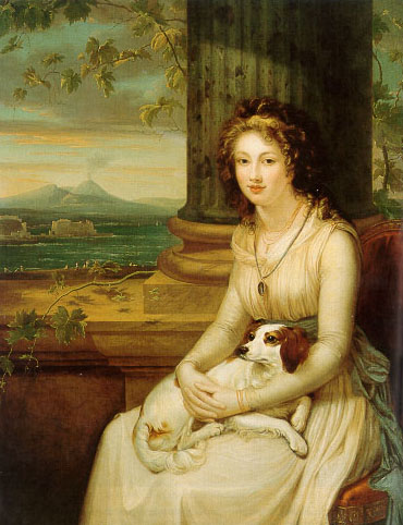 Le Vésuve, décrit par les contemporains du XVIIIe siècle Bluepi10